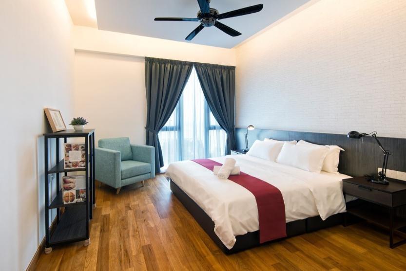 Three Bedrooms Suite