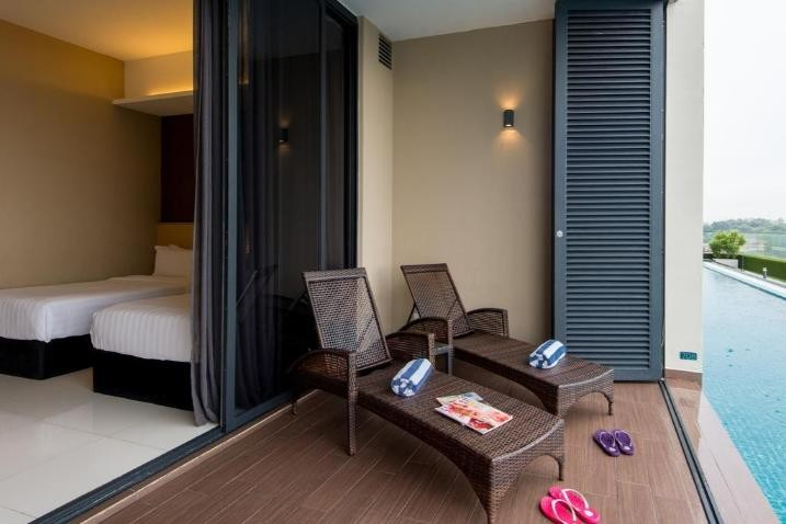 Twin Suite with Pool View